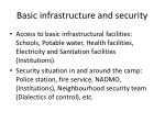basic infrastructure and security