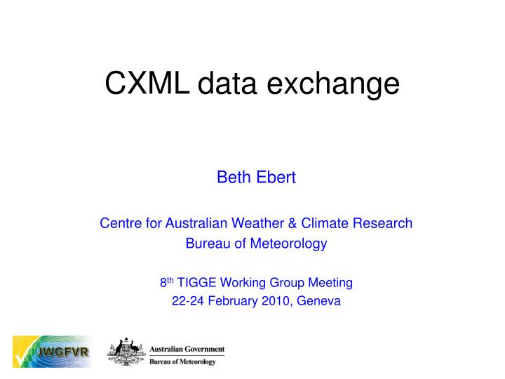 cxml data exchange n.