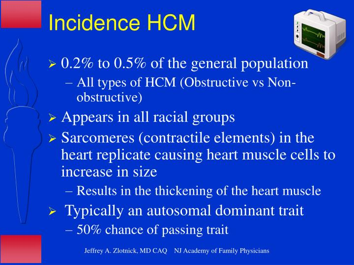 Incidence HCM
