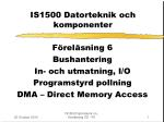 is1500 datorteknik och komponenter