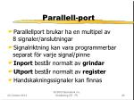 parallell port
