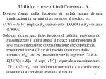 utilit e curve di indifferenza 6