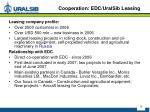cooperation edc uralsib leasing