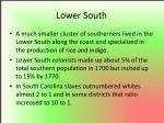 lower south