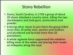 stono rebellion