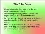 the killer crops