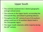 upper south