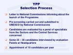 ypp selection process