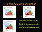 supernova collapse phase