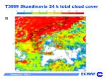 t3999 skandinavia 24 h total cloud cover