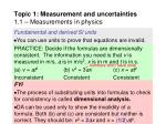 topic 1 measurement and uncertainties 1 1 measurements in physics21