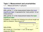 topic 1 measurement and uncertainties 1 1 measurements in physics27