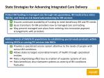 state strategies for advancing integrated care delivery2