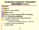 information technology management session 6