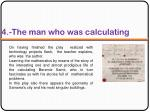 4 the man who was calculating1