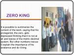 zero king
