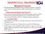 marine hull insurance related covers