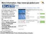 more information http www igi global com
