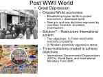 post wwii world1