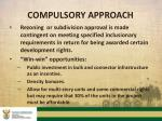 compulsory approach1