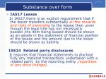 substance over form1