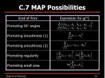 c 7 map possibilities