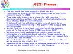 afeiit firmware