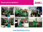 events and competitions