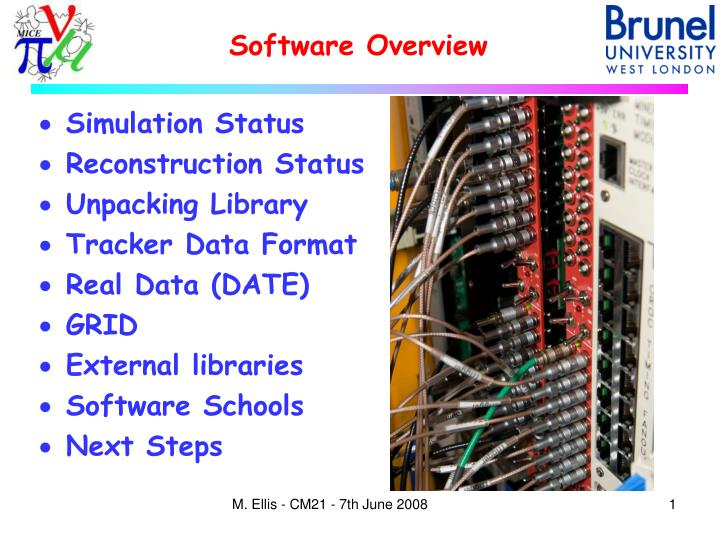 software overview n.