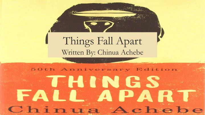 a review of things fall apart by chinua achebe Things fall apart by chinua achebe is a classic piece of african literature, and of world literature the story portrays a typical african rural reality (nigerian in this case), where the relationship between religion, white man and the colonisation of the african continent is explained.