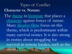 types of conflict2
