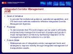 integrated corridor management icm