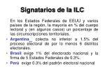 signatarios de la ilc1