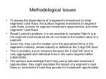 methodological issues