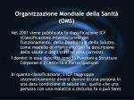 organizzazione mondiale della sanit oms11