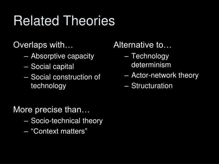 Related Theories