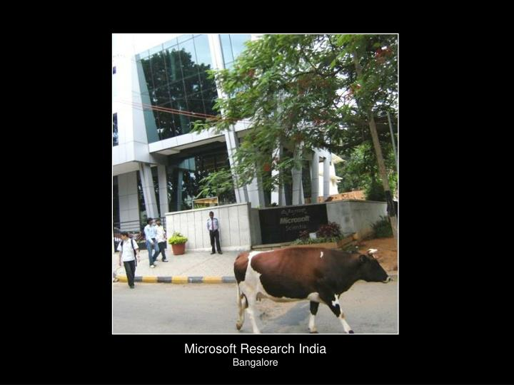 Microsoft Research India
