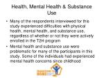 health mental health substance use