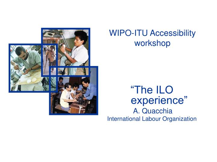 wipo itu accessibility workshop n.