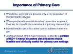 importance of primary care