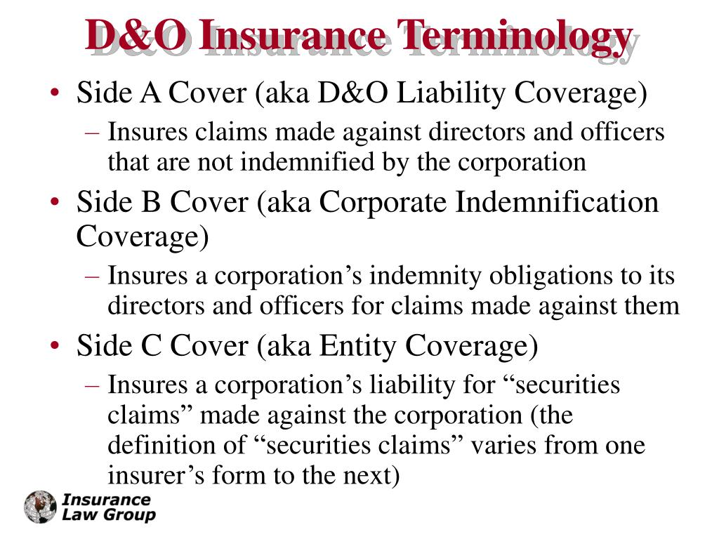 PPT - Using Your Captive In Your D&O Insurance Program ...