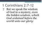 1 corinthians 2 7 12