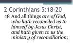 2 corinthians 5 18 20