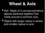 wheel axle1