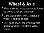 wheel axle2