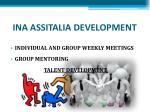 ina assitalia development