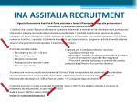 ina assitalia recruitment