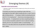 emerging themes 4