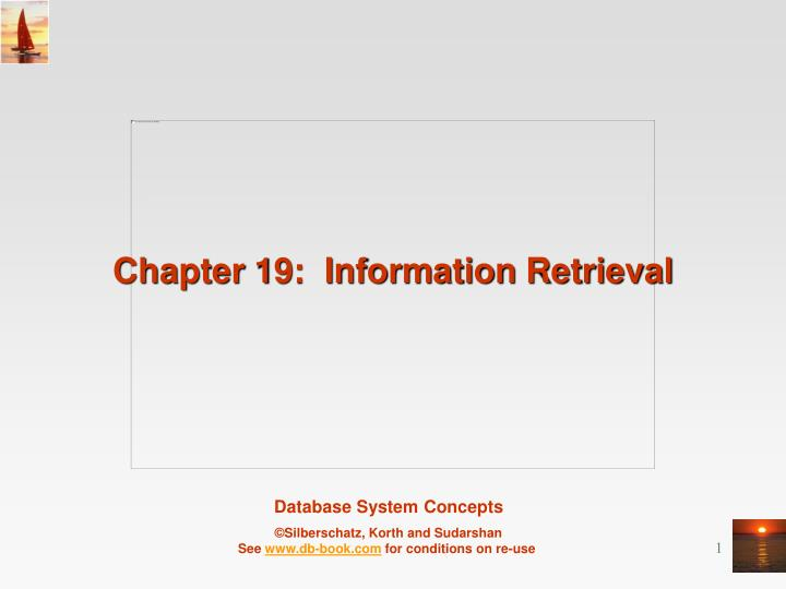 chapter 19 information retrieval n.