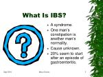 what is ibs